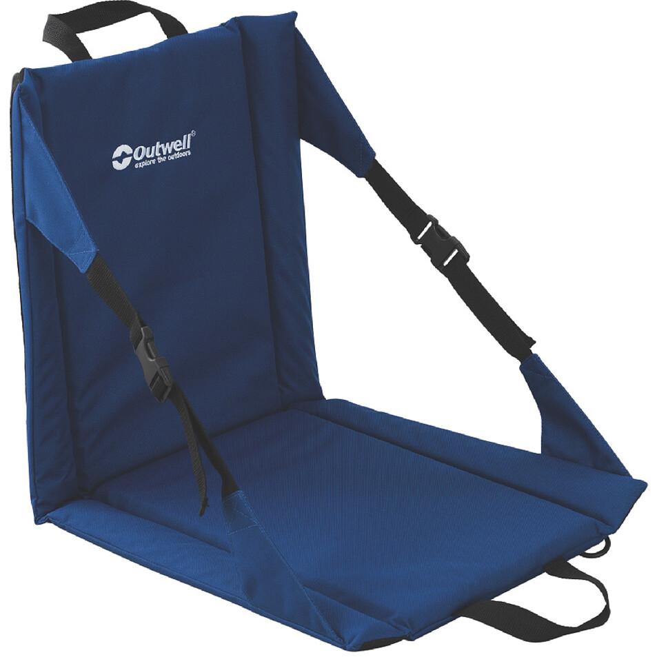Outwell Cardiel Folding Beach Chair Classic Blue Campz De